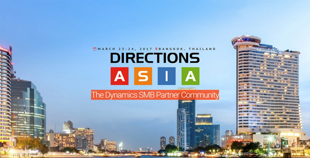 Direction Asia 2017 (Dynamics NAV Community Conference)