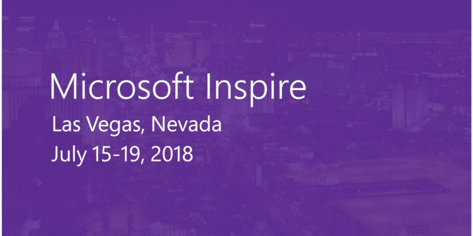 Microsoft Inspire 2018 Las Vegas