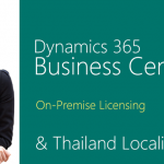 Dynamics 365 Business Central (On-premise) with Thailand localisation is here!