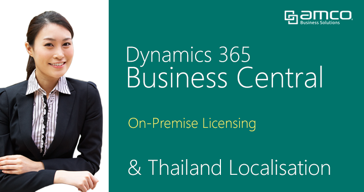 Business Central on-premise Thailand localisation