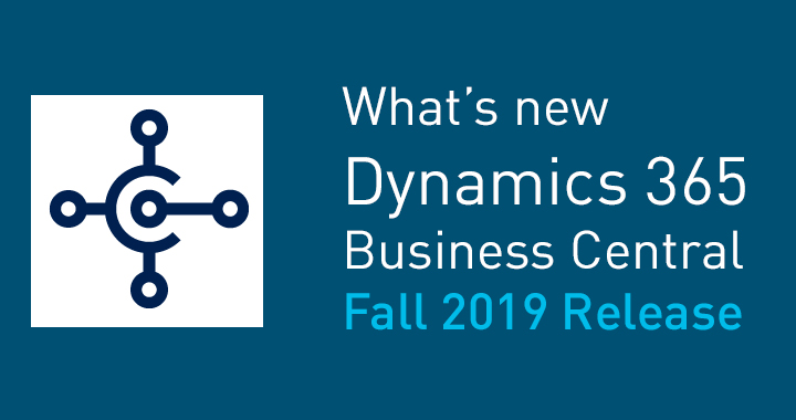 What's new Business Central 2019 Release Wave 2