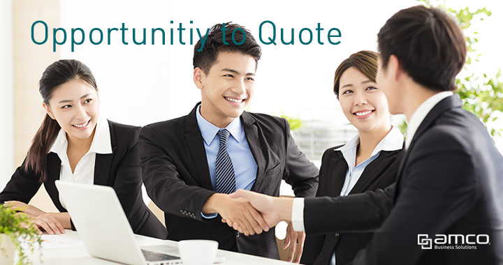 Opportunity to sales quote processes in Business Central