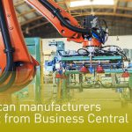 Manufactures module in Business Central
