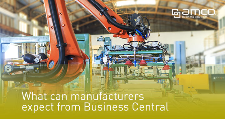 What can manufacturers expect from Business Central