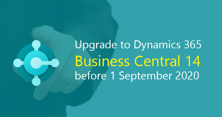 Upgrade to Business Central 14