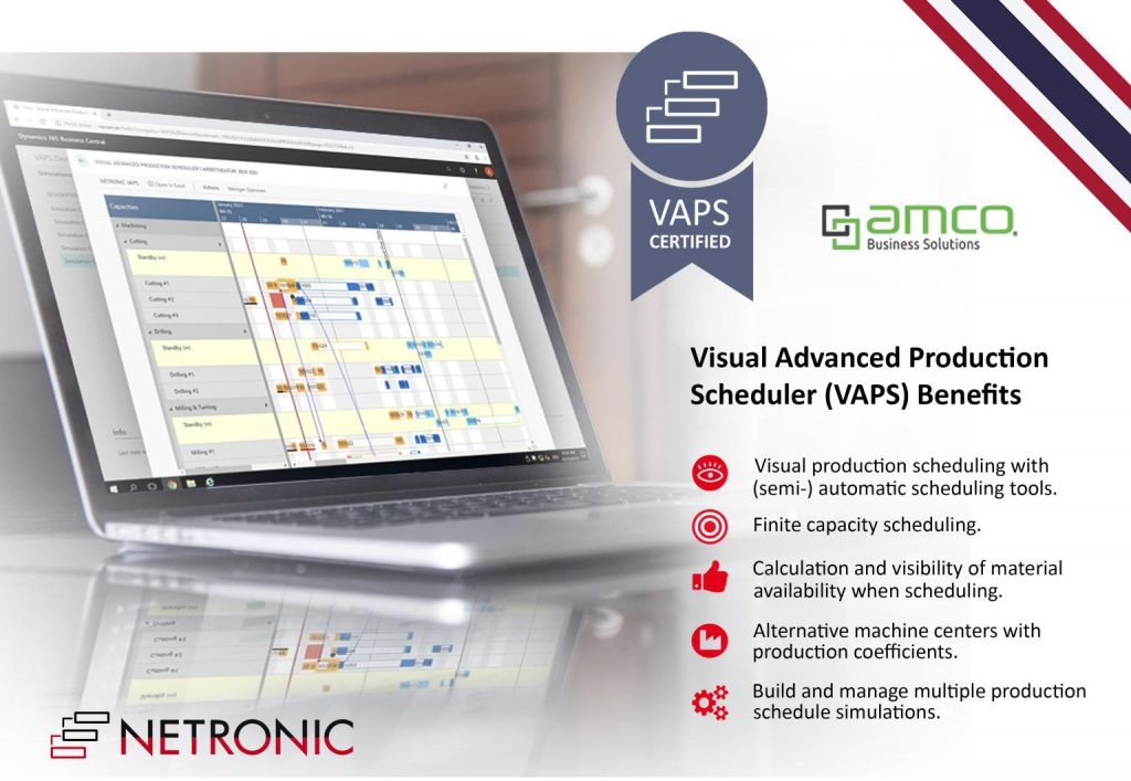 AMCO is the first Netronic VAPS reseller in Asia!
