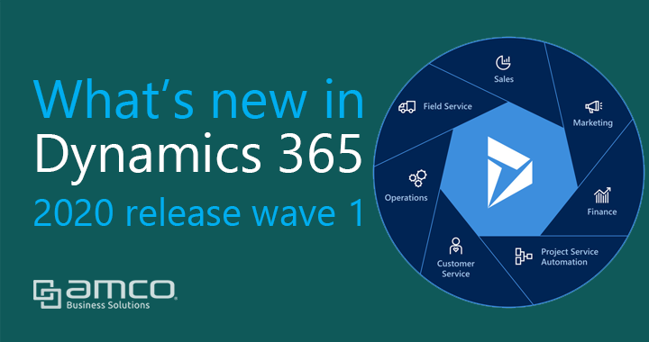 What's new Microsoft Dynamics 365  in 2020 Release Wave 1