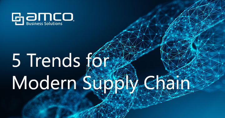 Modern supply chain trends for digital business