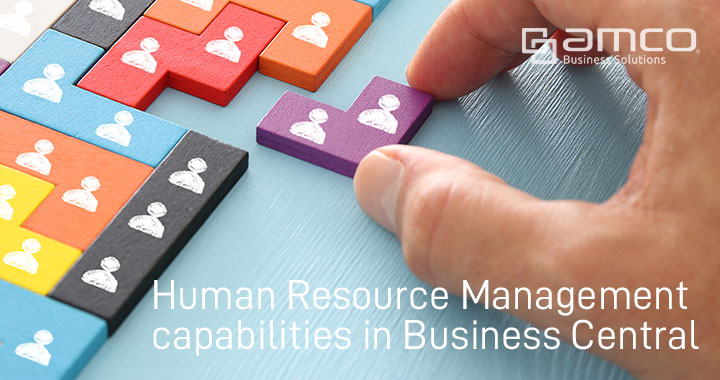 Human Resource Management functionalities in Business Central