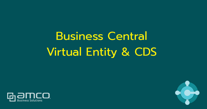 Business Central virtual entity and Common Data Service