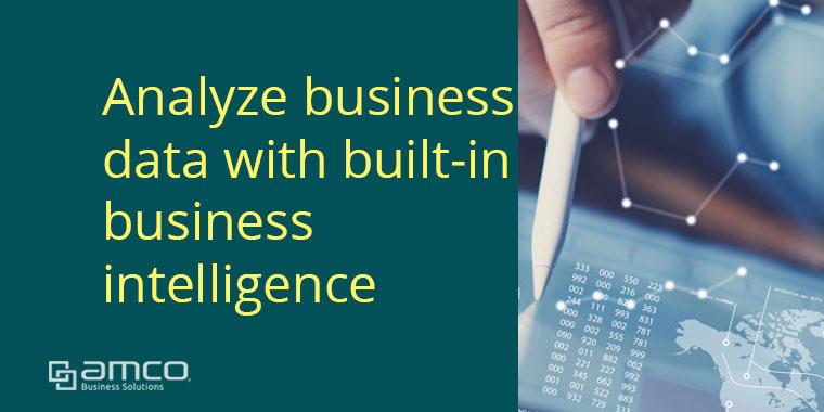 วิเคราะห์ข้อมูลธุรกิจด้วย Built-in Business Intelligence บน Business Central