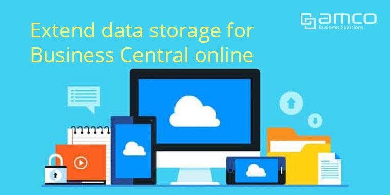 Extend data storage เพิ่มพื้นที่จัดเก็บข้อมูลบนคลาวด์ของ Business Central