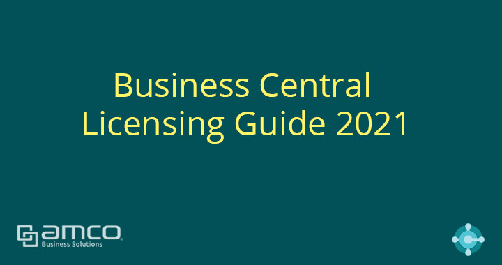 Business Central License และแนวทางการเลือกใช้งาน (Updated 2021)